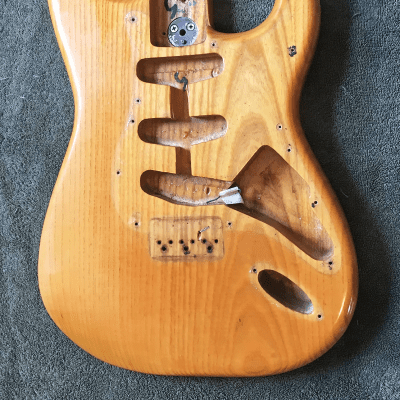 Fender Stratocaster Hardtail 3-Bolt Body 1971 - 1977