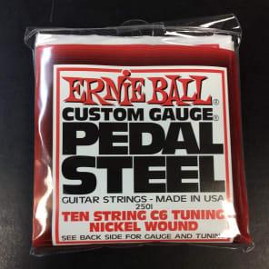 Ernie Ball 2501 10-String C6 Pedal Steel Guitar Strings, .012 - .066
