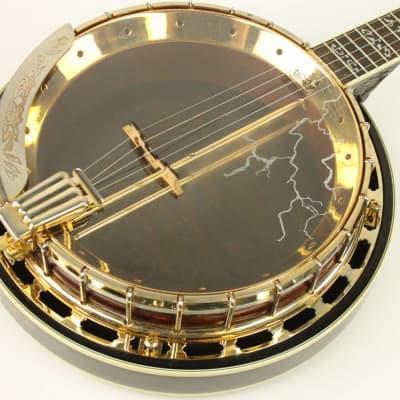 Samick SB-4 5-String Resonator Banjo w/HSC, Carved Heel & Peghead #ISI8266 for sale