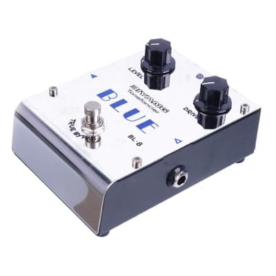 Biyang ToneFancier BL-8 BLUE Overdrive Effect Electric Guitar Pedal True Bypass Design with Gold Ped