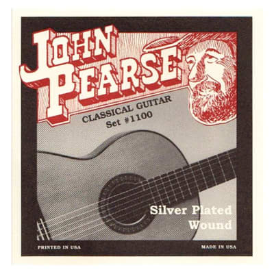 John Pearse 1100 Classical Standard Tension Guitar Strings Set