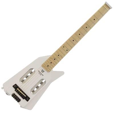 Traveler Ultra-Light Edge Acoustic-Electric Travel Guitar 2020 Angel White