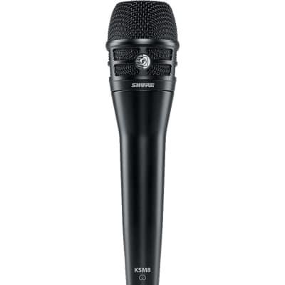 Shure KSM8 Black Dualdyne Vocal Microphone