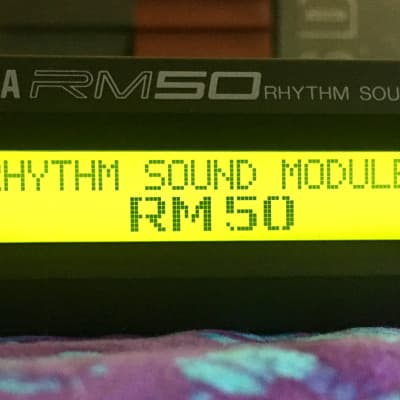 Yamaha RM50 Rhythm Sound Module. Super Clean! Near mint condition!