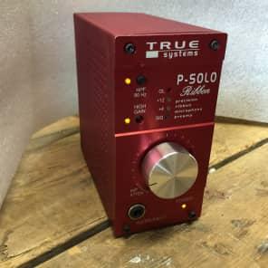 True Systems P-Solo Ribbon Desktop Microphone Preamp