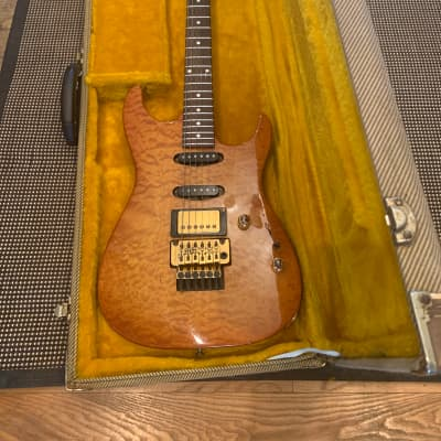 Pensa MK1 Plus Quilted Maple/Soft Amberburst for sale