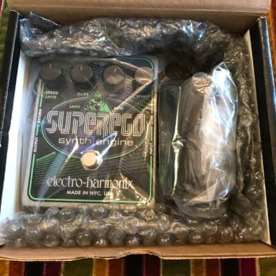 Electro-Harmonix Superego Synth Engine Black / Purple / Green. brand new!