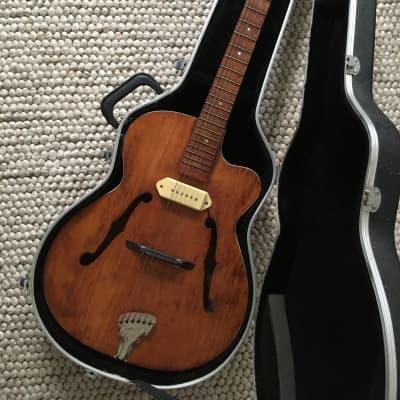 Jazz Guitar Archtop Mittenwald Old Beat Jazz Guitar Archtop Markneukirchen Mittenwald 50s 60s 1950 b for sale