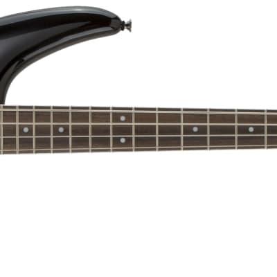 Jackson JS Series Spectra JS3 4-String Electric Bass Guitar in Silverburst -D