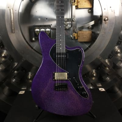 Balaguer Guitars Custom Growler Violet Sparkle Flake (Custom Order Guitar) w/ Original Padded Case for sale