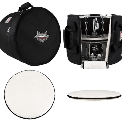 Ahead Bags - AR3016 - 16 x 14 Multi Snare/Timbale Case with 2 Stackers