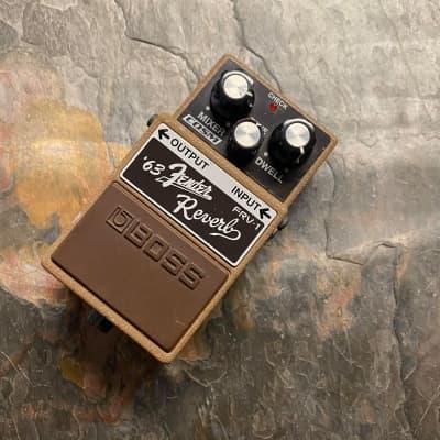 Pre-Owned Boss FRV-1 '63 Fender Reverb