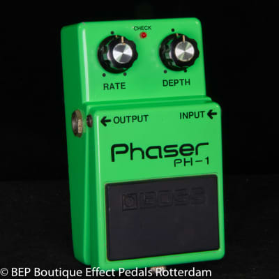 Boss PH-1 Phaser s/n 8900 Silver Screw  Long Dash 1979 Japan