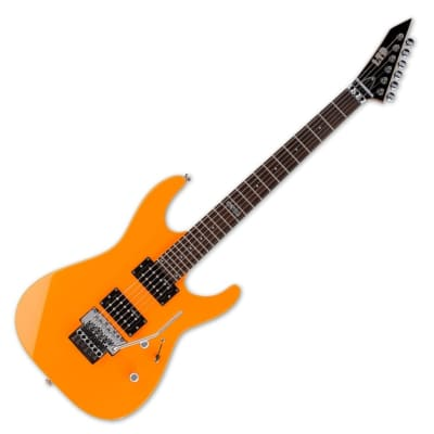 ESP Ltd M 50FR NOR in Neon Orange with Floyd Rose Trem *NEW* for sale