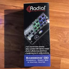 Radial Engineering Bassbone OD Preamp and DI 2017 Black