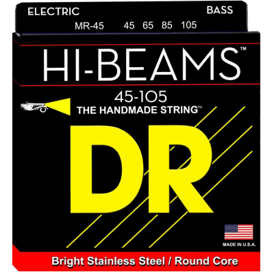 DR Hi Beams Electric Bass Strings 45-105 Long Scale