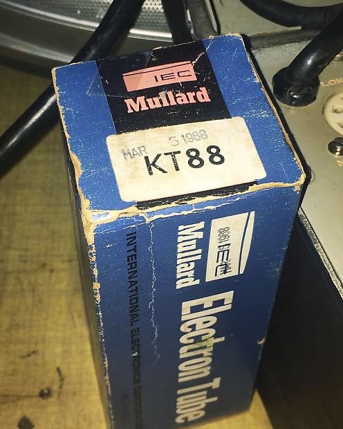 NOS Genalex* Mullard Kt88 1968 | The Gear Locker