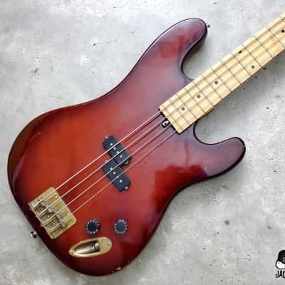 Aspen / Matsumoku MIJ Lawsuit Era Electric P-Style Bass w/ Brass Hardware (1970s, Violinburst) for sale