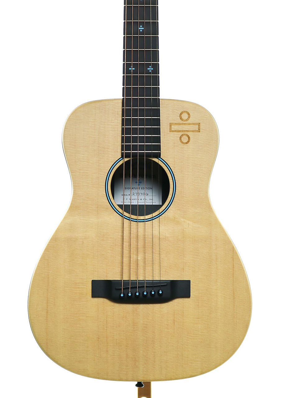 Martin lx ed sheeran 3 divide acoustic electric guitar for Motor city guitar waterford
