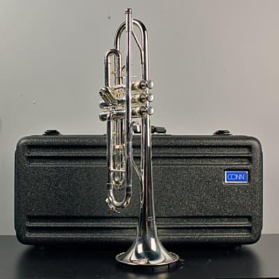Conn 23BS Bb Trumpet  (Silver Brass)