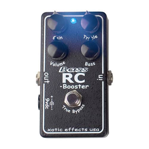 xotic bass rc booster clean boost bass guitar effect pedal reverb. Black Bedroom Furniture Sets. Home Design Ideas
