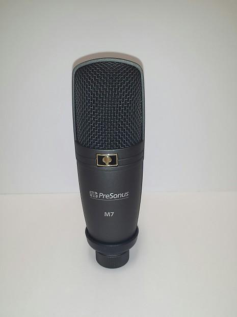 presonus m7 condenser microphone reverb. Black Bedroom Furniture Sets. Home Design Ideas