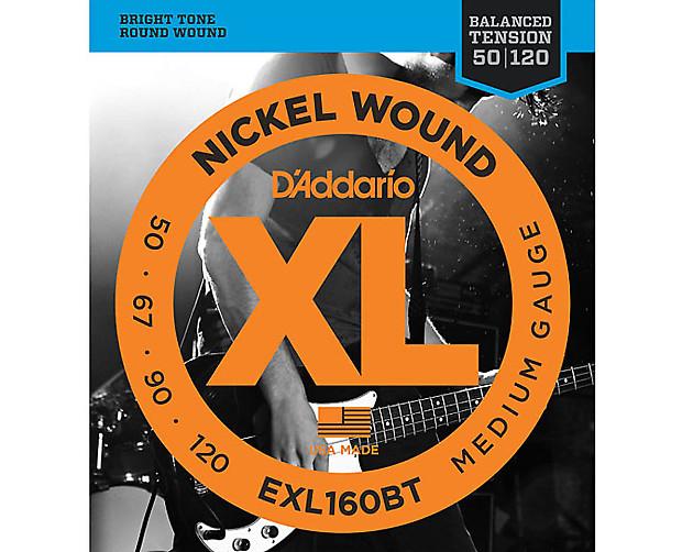 d 39 addario exl160bt nickel wound bass guitar strings reverb. Black Bedroom Furniture Sets. Home Design Ideas