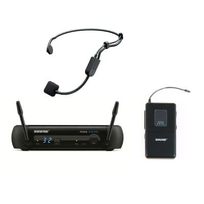 Shure PGXD14/PGA31 Digital Wireless Fitness Headset System