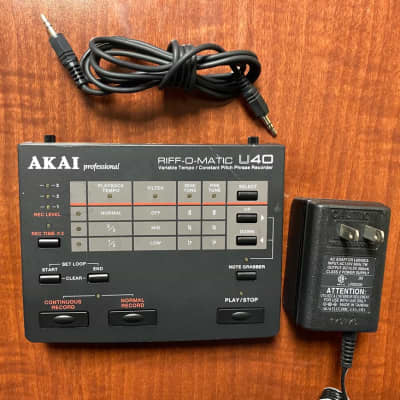 Akai RIFF-O-MATIC U40 black for sale