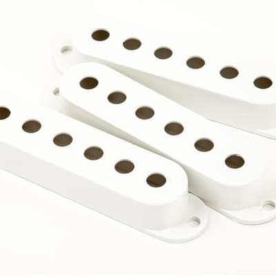 Fender Stratocaster Pickup Covers - White