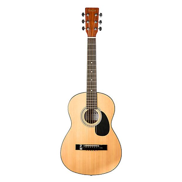 denver 3 4 size acoustic guitar natural reverb. Black Bedroom Furniture Sets. Home Design Ideas