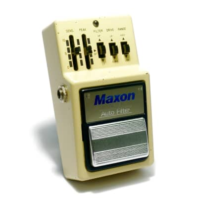 Maxon AF-9 Auto Filter 1983 Vintage Silver Label Made In Japan for sale