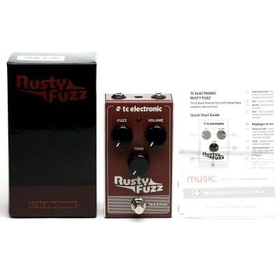 NEW TC Electronic Rusty Silicon Fuzz Pedal