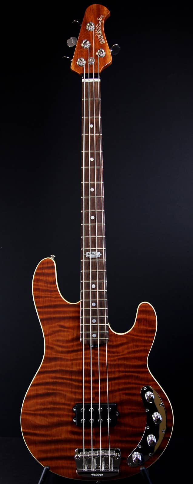 music man stingray bass redwood bfr with case ball family reverb. Black Bedroom Furniture Sets. Home Design Ideas
