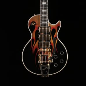 Les Paul Custom - Painted Flames - Gibson Custom Shop - PLEK'd for sale