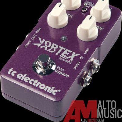 TC Electronic Vortex Flanger Toneprint Guitar Effects Pedal