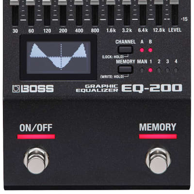 Boss EQ-200 Graphic Equalizer