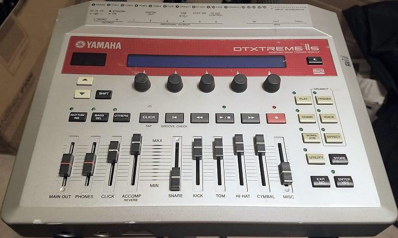 yamaha dtxtreme iis electronic sampling drum trigger module reverb. Black Bedroom Furniture Sets. Home Design Ideas