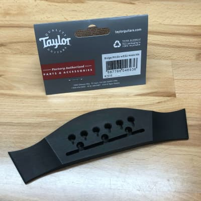 Taylor 83016 Acoustic Guitar Bridge w/ ES2 Holes, Ebony