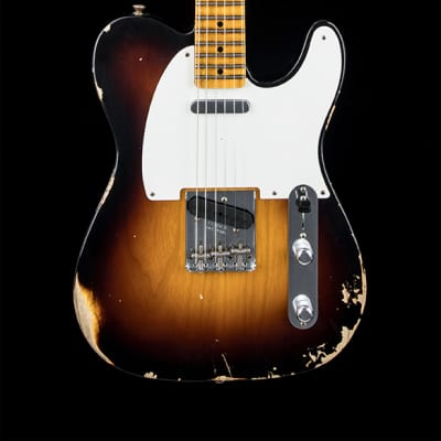 Fender Custom Shop 1954 Telecaster Relic - Wide-Fade 2-Color Sunburst for sale