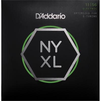 D'Addario NYXL1156 Nickel Wound Electric Guitar Strings, Medium Top / Extra-Heavy Bottom Gauge