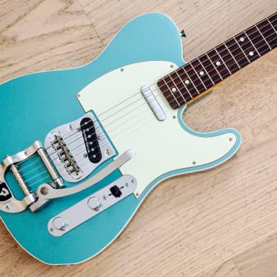 2008 Fender Telecaster Custom '62 Reissue Ocean Turquoise w/ Bigsby & USA Pickups, Japan MIJ for sale