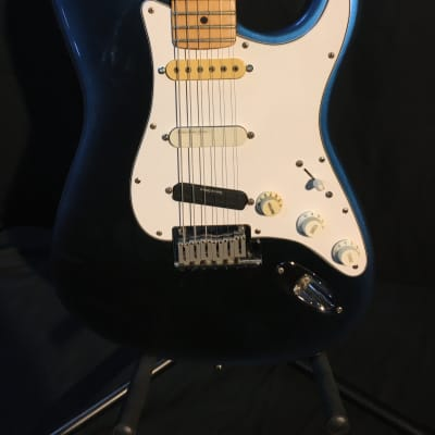 1994 Fender Stratocaster Plus Made In USA Blue Burst w/ Case