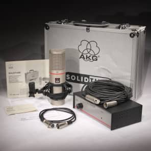 AKG SolidTube Large Diaphragm Cardioid Tube Condenser Microphone
