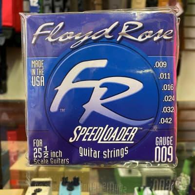Floyd Rose Speedloader Guitar Strings 9-42 2002 Blue for sale