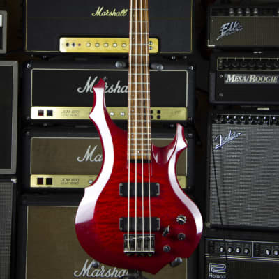 ESP Edwards Forest E-T-98 FR Rare Japan 2004 Red for sale