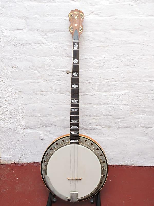 C F  Martin Vega VIP Banjo 5 String USA Vintage Banjo Resonator Closed Back  RARE - Owned by Leo Quan