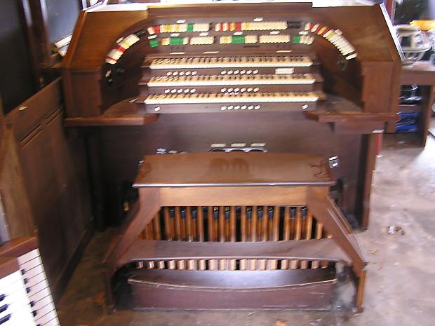 Allen theater organ console for MIDI conversion | Reverb
