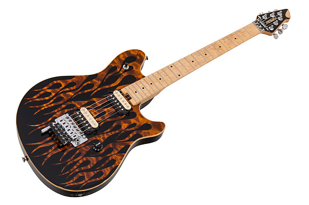 e4515c9993b Peavey Wolfgang USA Custom Shop Special FR - Amber Flames on