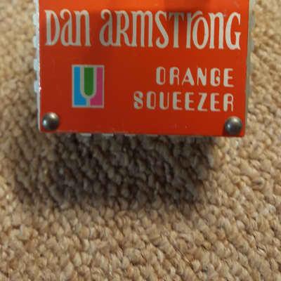 Dan Armstrong by Musitronics  Orange Squeezer